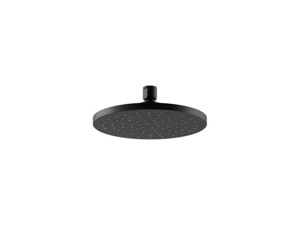 "Kohler 13688-BL 8"" Contemporary Round 2.5 gpm rainhead with Katalyst® air-induction technology-Rainheads-HomePlumbing"