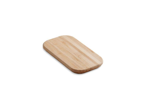 Kohler 3370-NA Staccato(TM) hardwood cutting board for Staccato(TM) double-equal sink-Cutting Boards-HomePlumbing