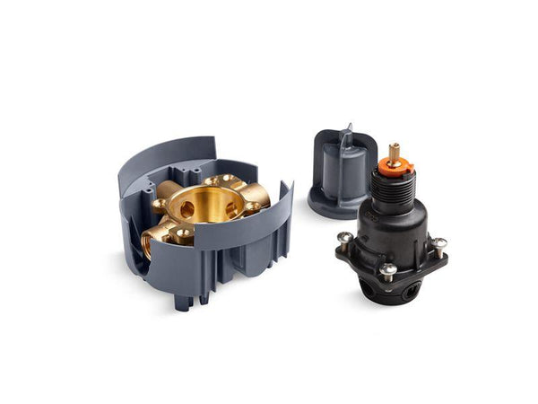 Kohler P8304-IPX-NA Rite-Temp valve body and pressure-balance cartridge kit with female NPT connections, project pack-Valves-HomePlumbing