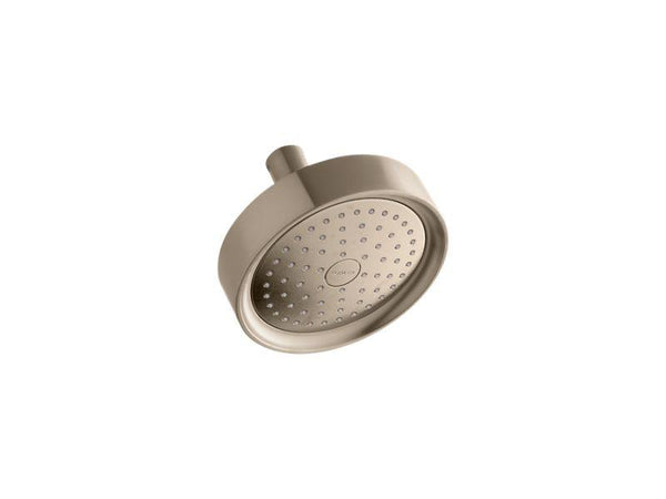 Kohler 965-AK-BV Purist® 2.5 gpm single-function wall-mount showerhead with Katalyst® air-induction technology-Showerheads-HomePlumbing