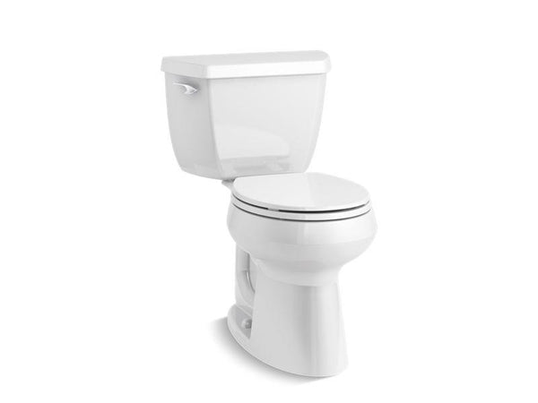 Kohler 23269-0 Highline® Classic Comfort Height® The Complete Solution® round-front 1.28 gpf toilet-Toilets-HomePlumbing