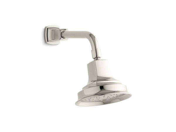 Kohler 45410-G-SN Margaux® 1.75 gpm single-function showerhead with Katalyst air-induction technology-Showerheads-HomePlumbing