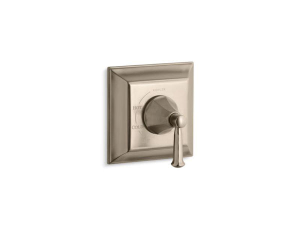 Kohler TS463-4S-BV Memoirs Stately Rite-Temp valve trim with lever handle-Handle Trim-HomePlumbing
