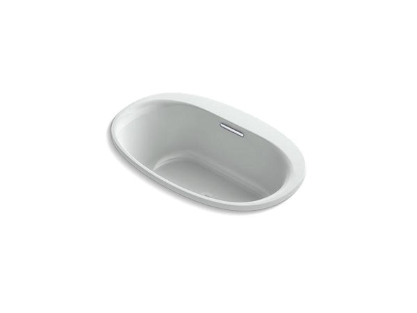 "Kohler 5714-VBW-95 Underscore Oval 60"" x 36"" drop-in VibrAcoustic bath with Bask heated surface-Bathing-HomePlumbing"