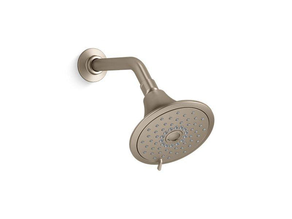 Kohler 22169-BV Forte 2.5 gpm multifunction showerhead with Katalyst® air-induction technology-Showerheads-HomePlumbing