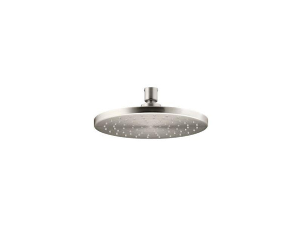 "Kohler 13688-G-BN 8"" Contemporary Round 1.75 gpm rainhead with Katalyst air-induction technology-Rainheads-HomePlumbing"