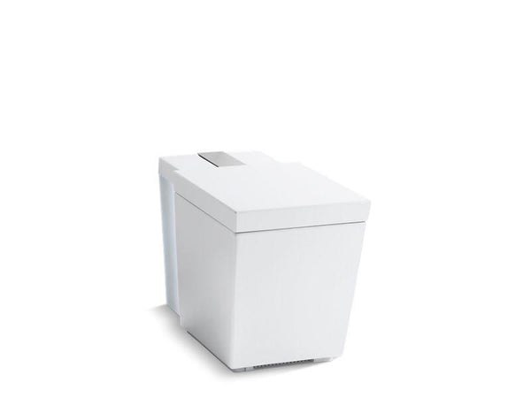 Kohler 3901-NSR-0 Numi Comfort Height one-piece elongated dual-flush intelligent toilet with skirted trapway and standard remote-Toilets-HomePlumbing