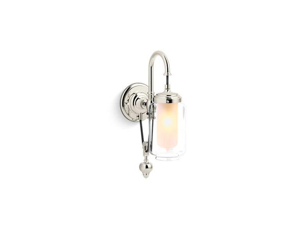 Kohler 72581-SN Artifacts single wall sconce with adjustable cord-Lighting & Lighting Accessories-HomePlumbing
