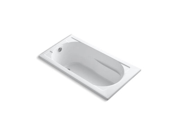 Kohler 1184-0 Devonshire 60 x 32 drop-in bath with reversible drain-Bathing-HomePlumbing