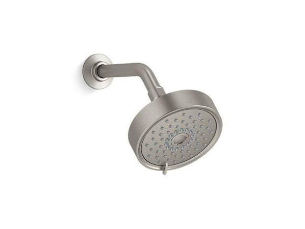 Kohler 22170-G-BN Purist 1.75 gpm multifunction showerhead with KatalystÆ air-induction technology-Showerheads-HomePlumbing