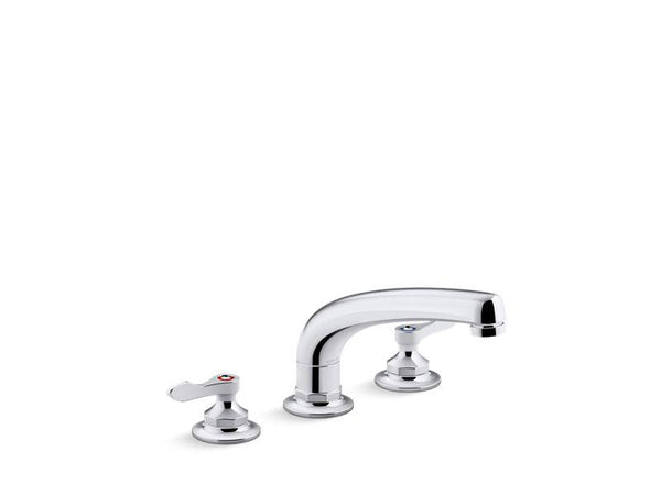 "Kohler 815T20-4AHA-CP Triton Bowe 1.5 gpm kitchen sink faucet with 8-3/16"" swing spout, aerated flow and lever handles-Commercial Faucets-HomePlumbing"
