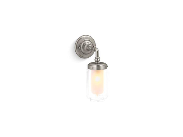 Kohler 72584-BN Artifacts single wall sconce-Lighting & Lighting Accessories-HomePlumbing