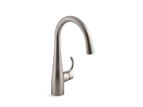 Kohler 22034-VS Simplice® bar sink faucet-Kitchen Sink Faucets-HomePlumbing