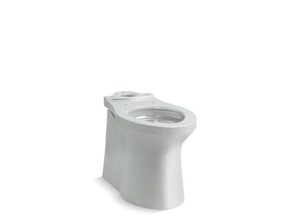 Kohler 20485-95 Irvine™ Comfort Height® elongated toilet bowl with skirted trapway, seat not included