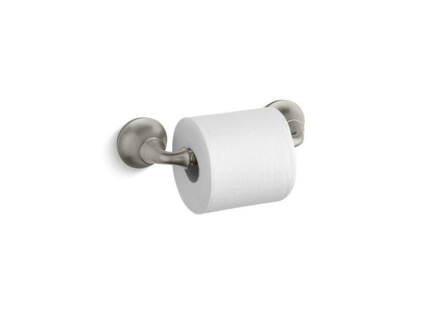 Kohler 11374-BN Forté sculpted toilet tissue holder-Tissue Paper Holders-HomePlumbing