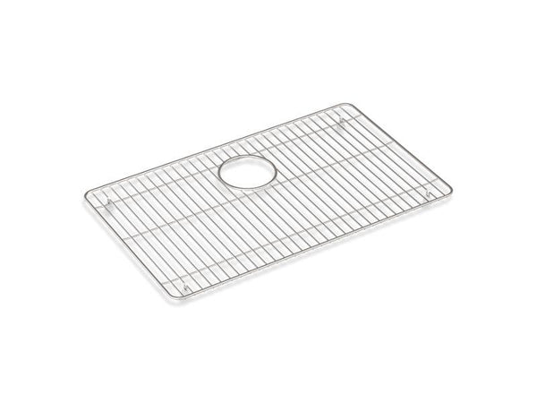 "Kohler 80038-ST Cairn stainless steel sink rack, 23-1/4"" x 14"", for K-28000-Sink Racks-HomePlumbing"