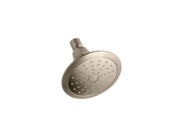 Kohler 10327-BV Forte® 2.0 gpm single-function showerhead with Katalyst® air-induction technology-Showerheads-HomePlumbing