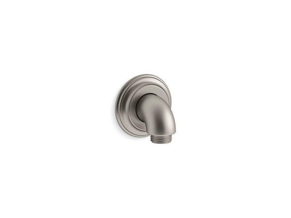 Kohler 22173-BN Bancroft wall-mount supply elbow with check valve-Shower Fittings-HomePlumbing