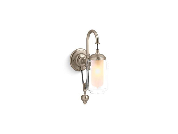 Kohler 72581-BV Artifacts single wall sconce with adjustable cord