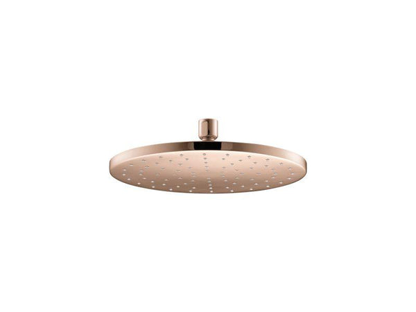 "Kohler 13689-RGD Contemporary Round 10"" Contemporary Round 2.5 gpm rainhead with Katalyst® air-induction technology-Rainheads-HomePlumbing"
