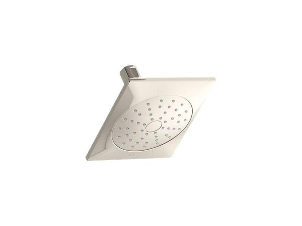 Kohler 45215-G-SN Loure® 1.75 gpm single-function showerhead with Katalyst® air-induction technology-Showerheads-HomePlumbing