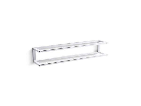 "Kohler 27352-CP Draft 24"" towel bar frame-Towel Bars-HomePlumbing"