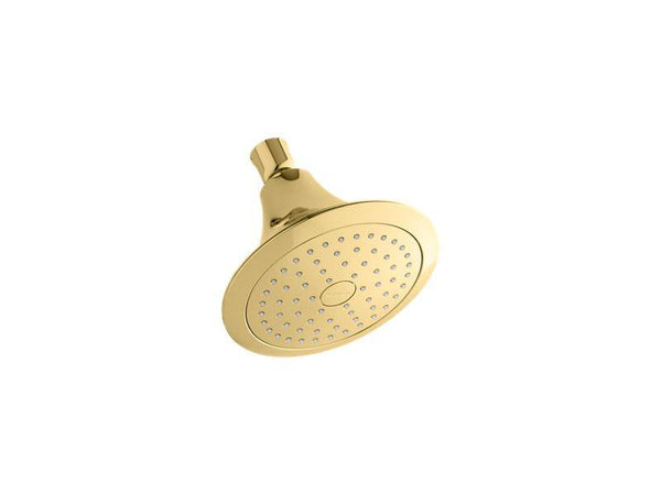 Kohler 10282-AK-PB Forte® 2.5 gpm single-function showerhead with Katalyst® air-induction technology-Showerheads-HomePlumbing