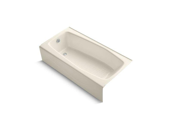 Kohler 715-47 Villager 60 x 30 alcove bath with integral apron and left-hand drain-Bathing-HomePlumbing