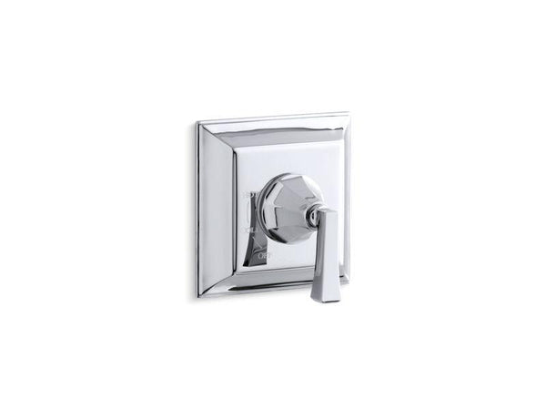 Kohler TS463-4V-CP Memoirs Stately Rite-Temp valve trim with Deco lever handle-Handle Trim-HomePlumbing