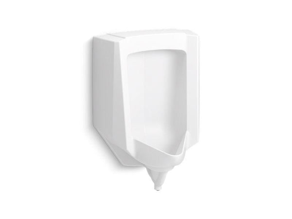 Kohler 25048-ER-0 Stanwell blow-out 0.5 to 1.0 gpf urinal with rear spud-Urinals-HomePlumbing