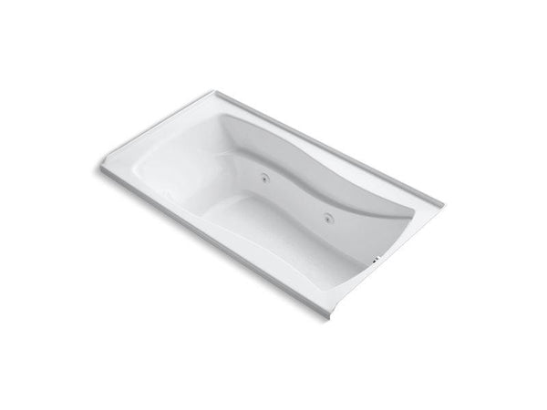 Kohler 1224-R-0 Mariposa 66 x 36 alcove whirlpool with integral flange and right-hand drain-Bathing-HomePlumbing