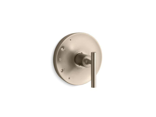 Kohler TS14423-4-BV Purist Rite-Temp valve trim with lever handle-Handle Trim-HomePlumbing