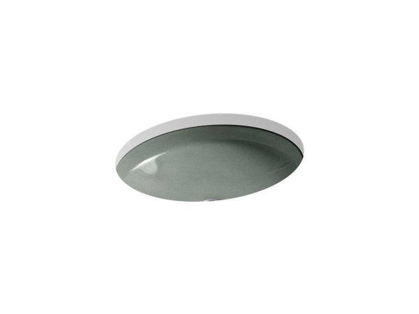 Kohler 2874-FT Canvas under-mount bathroom sink-Bathroom Sinks-HomePlumbing