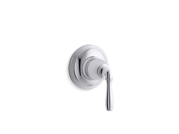 Kohler T10358-4-CP Devonshire valve trim for volume control valve with lever handle, requires valve-Handle Trim-HomePlumbing