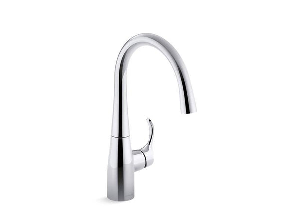 Kohler 22034-CP Simplice® bar sink faucet-Kitchen Sink Faucets-HomePlumbing