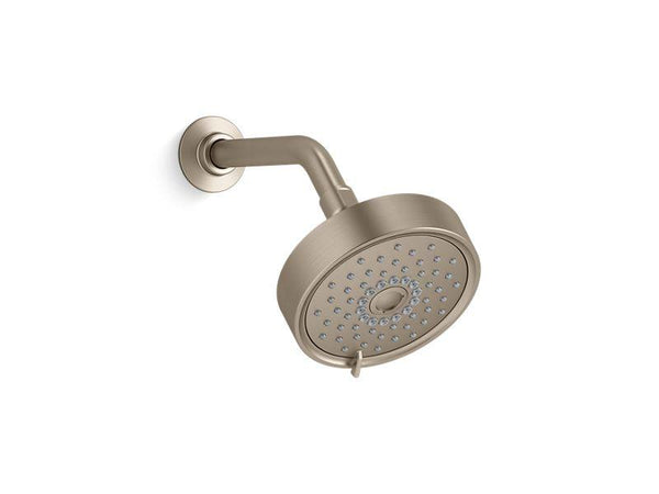 Kohler 22170-BV Purist 2.5 gpm multifunction showerhead with Katalyst® air-induction technology-Showerheads-HomePlumbing