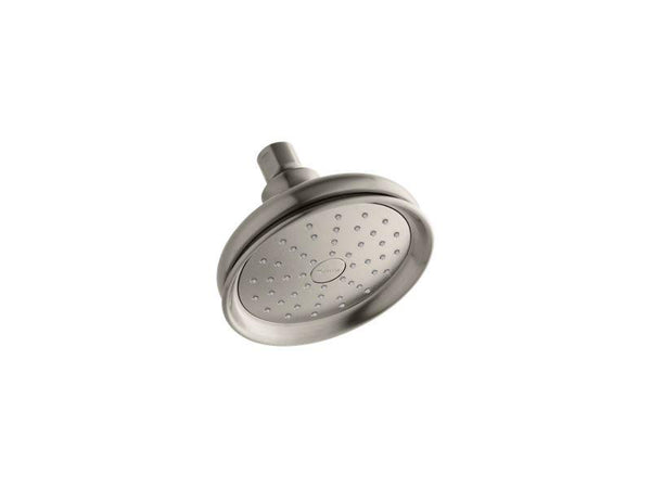 Kohler 45412-G-BN Fairfax® 1.75 gpm single-function showerhead with Katalyst air-induction technology - HomePlumbing