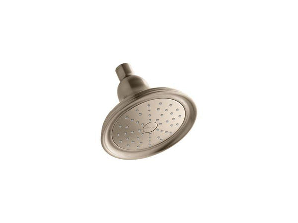 Kohler 45413-G-BV Devonshire® 1.75 gpm single-function showerhead with Katalyst air-induction technology