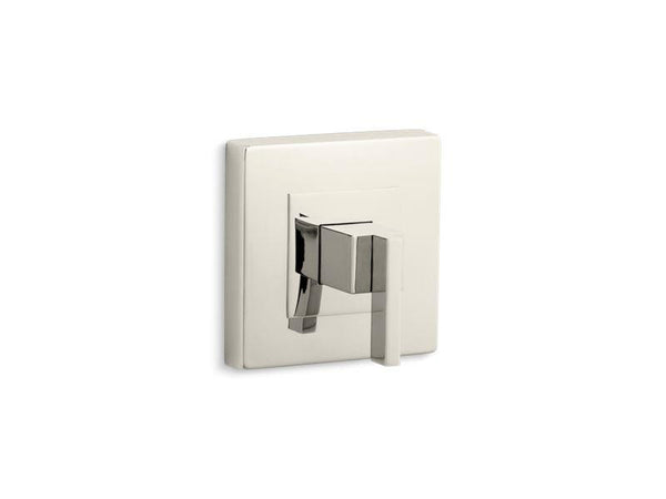Kohler TS14671-4-SN Loure Rite-Temp valve trim with lever handle-Handle Trim-HomePlumbing