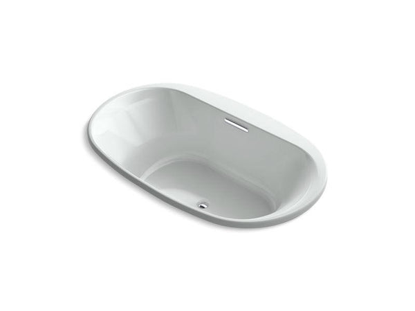"Kohler 5716-VBW-95 Underscore Oval 66"" x 36"" drop-in VibrAcoustic bath with Bask heated surface-Bathing-HomePlumbing"