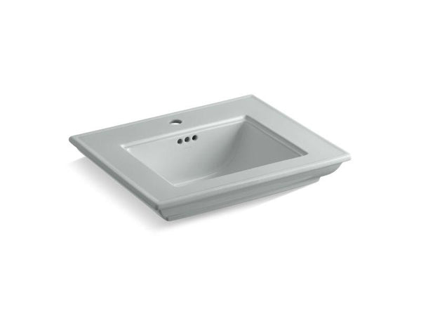 "Kohler 29999-1-95 Memoirs® Stately 24"" pedestal/console table bathroom sink basin with single faucet hole"