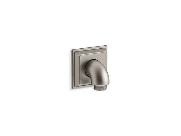 Kohler 22171-BN Memoirs wall-mount supply elbow with check valve-Shower Fittings-HomePlumbing