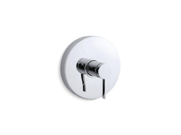 Kohler TS950-4-CP Stillness Rite-Temp valve trim with lever handle-Handle Trim-HomePlumbing