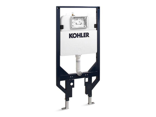 Kohler 18647-NA In-wall tank and carrier for K-76395 Veil Intelligent wall-hung toilet-Toilets-HomePlumbing
