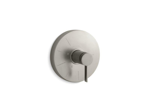 Kohler TS950-4-BN Stillness Rite-Temp valve trim with lever handle-Handle Trim-HomePlumbing