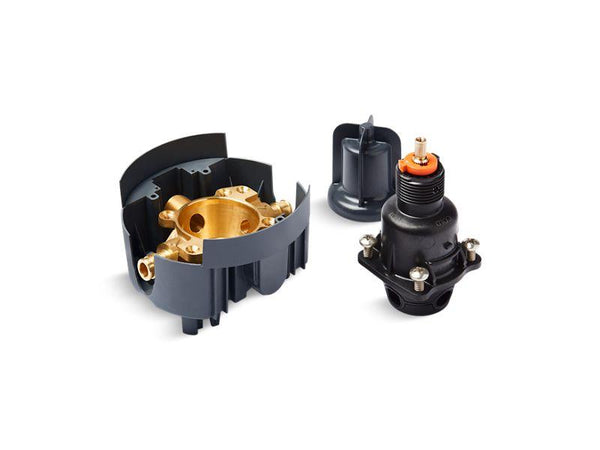 Kohler P8304-UX-NA Rite-Temp valve body and pressure-balance cartridge kit with PEX expansion connections, project pack