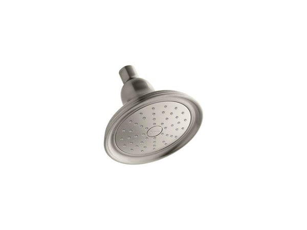 Kohler 45413-G-BN Devonshire® 1.75 gpm single-function showerhead with Katalyst air-induction technology-Showerheads-HomePlumbing