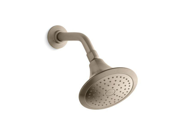Kohler 10327-G-BV Forte® 1.75 gpm single-function showerhead with Katalyst air-induction technology - HomePlumbing