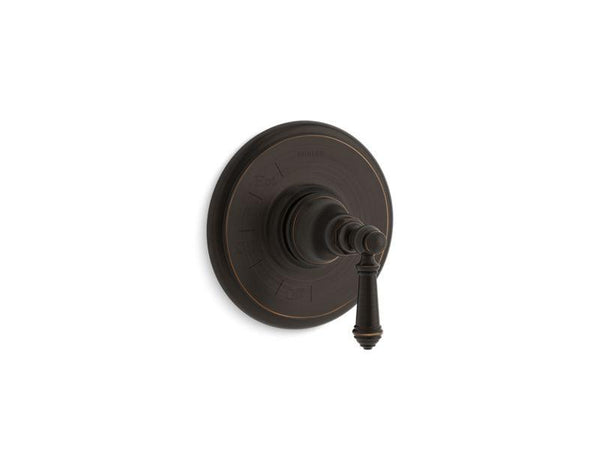 Kohler TS72767-4-2BZ Artifacts Rite-Temp valve trim with lever handle-Handle Trim-HomePlumbing
