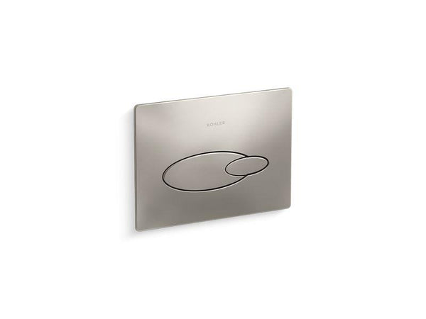 "Kohler 4177-BN Droplet flush actuator plate for 2""x4"" in-wall tank and carrier system-Toilet Fittings-HomePlumbing"